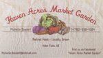 Haven Acres Market Garden